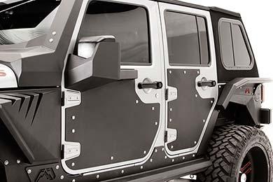 Jeep Wrangler Fab Fours Jeep Door Skin