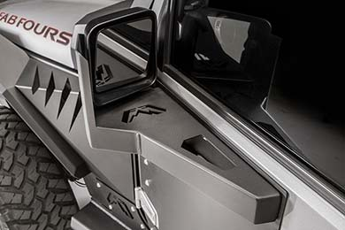 Fab Fours Jeep Mirror Guard