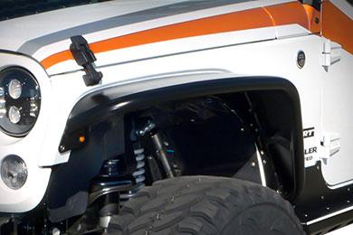 Jeep Wrangler Poison Spyder Crusher Flares