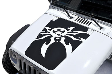 Poison Spyder Hood Decal