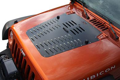 Jeep Wrangler Poison Spyder Hood Louver