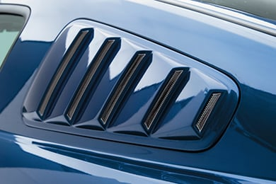 3D Carbon Window Louvers
