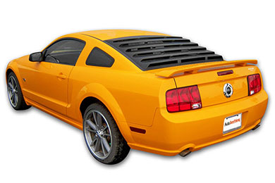 Mach-Speed ABS Rear Window Louvers