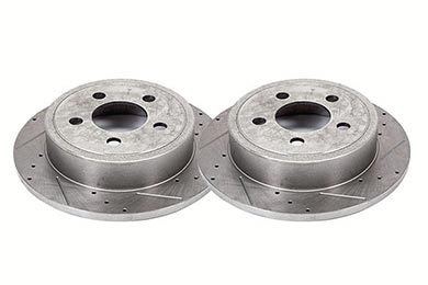 Alloy USA Performance Drilled & Slotted Brake Rotors