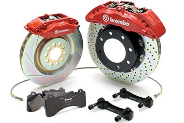 Chevy Tahoe Brembo GT Big Brake Kit