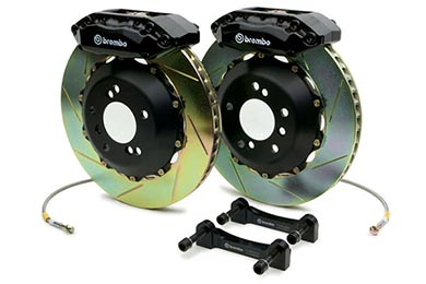 Chevy Tahoe Brembo GT Slotted Brake Kit