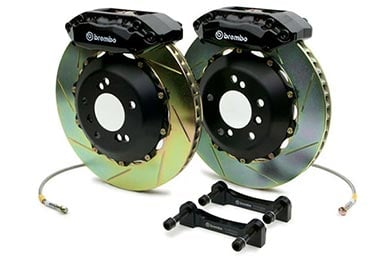 Infiniti G37 Brembo GT Slotted Brake Kit