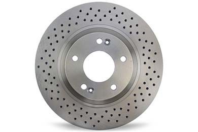 Centric C-TEK Drilled Brake Rotors