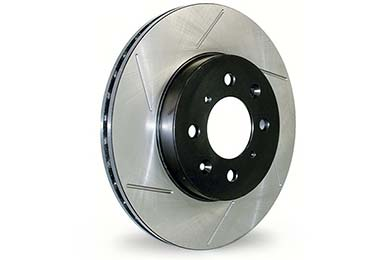 Dodge Magnum Centric C-TEK Slotted Brake Rotors