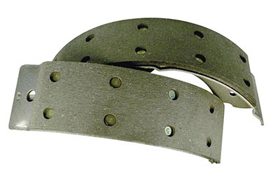 centric heavy duty brake shoes
