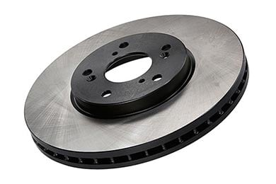 Toyota Tacoma Centric Premium High Carbon Brake Rotors