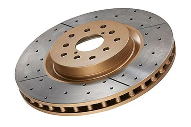 Volkswagen GTI DBA Gold Series Rotors