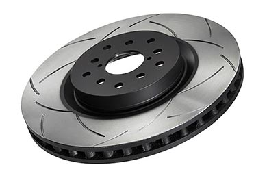 Honda Fit DBA T2 Slotted Rotors