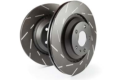Chevy Tahoe EBC Ultimax Slotted Rotors