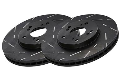 Ford Edge EBC Ultimax Slotted Rotors
