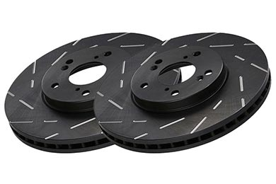 Ford Bronco EBC Ultimax Slotted Rotors