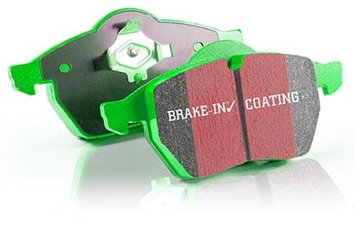 Hummer H3 EBC Green Stuff Brake Pads