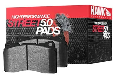 Lincoln MKZ Hawk HPS 5.0 Brake Pads