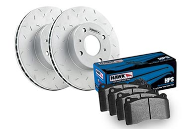 Chevy Avalanche Hawk HPS Brake Kit