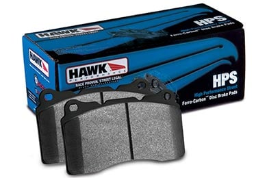 Lincoln MKZ Hawk HPS Brake Pads