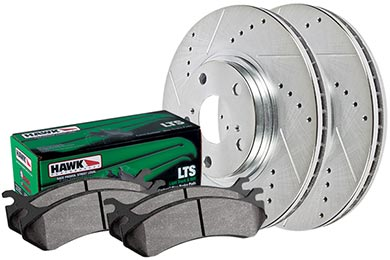BMW X3 Hawk LTS Sector 27 Brake Kit