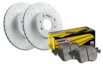 Chevy Colorado Hawk Performance Ceramic Brake Kit