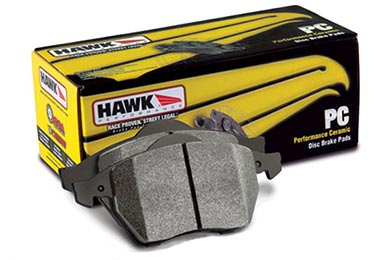 Chevy Corvette Hawk Performance Ceramic Brake Pads