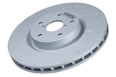 Hawk Quiet Slot Brake Rotors