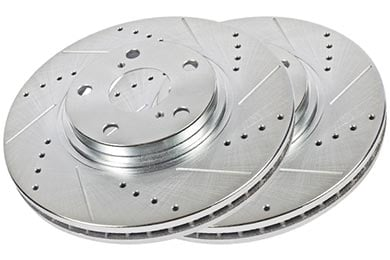 Chevy Tahoe Hawk Sector 27 Brake Rotors