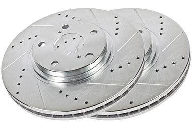 Lexus SC 430 Hawk Sector 27 Brake Rotors