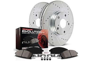 Chevy Corvette Power Stop Z23 Evolution Brake Kits