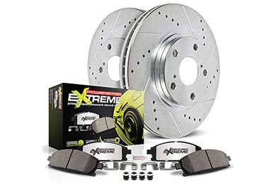 Nissan Murano Power Stop Z26 Extreme Street Warrior Brake Kits