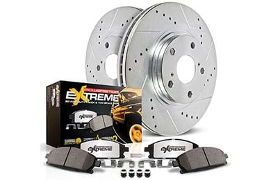Ford F-150 Power Stop Z36 Truck & Tow Brake Kits