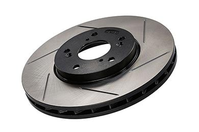 Chevy Silverado StopTech Slotted Brake Rotors
