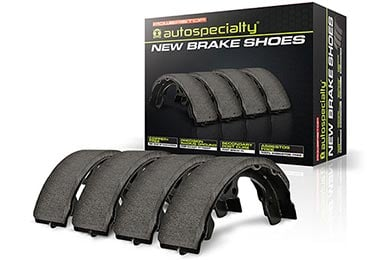 Land Rover LR3 Power Stop Autospecialty Parking Brake Shoes