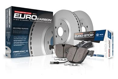 Audi S4 Power Stop Euro-Stop Brake Kit