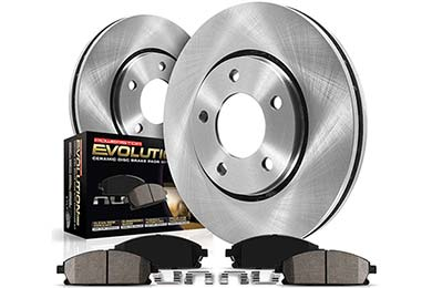 Pontiac Grand Am Power Stop OEK Ceramic Brake Kits