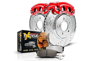 GMC Envoy Power Stop Z36 Truck & Tow Caliper Brake Kit