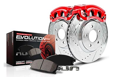 Chevy Corvette Power Stop Evolution Caliper Brake Kit