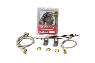 Chevy C/K 3500 Skyjacker Braided Stainless Steel Brake Lines