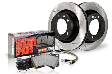 Mazda 6 StopTech Slotted Sport Brake Kit