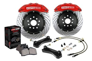 Subaru Forester StopTech Slotted Big Brake Kit