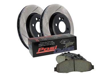 Audi A4 StopTech Slotted Street Brake Kit