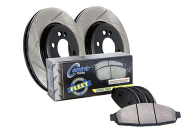 Chevy Avalanche StopTech Slotted Truck Brake Kit
