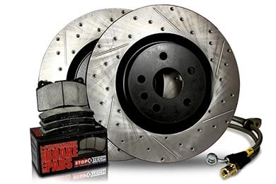 Nissan Altima StopTech Drilled & Slotted Sport Brake Kit