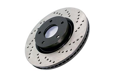 Mercedes-Benz 420 StopTech Drilled Brake Rotors
