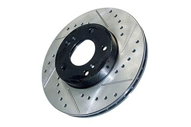 Volvo 740 StopTech Drilled & Slotted Rotors