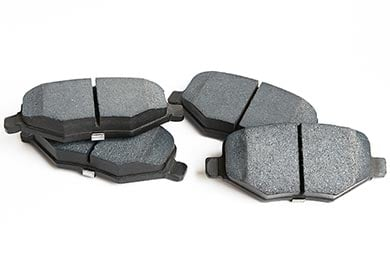 Lincoln MKZ TruXP Performance Semi-Metallic Brake Pads