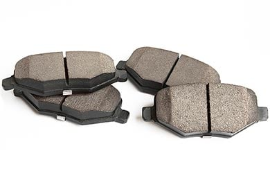 Ford Fiesta TruXP High Performance Ceramic Brake Pads