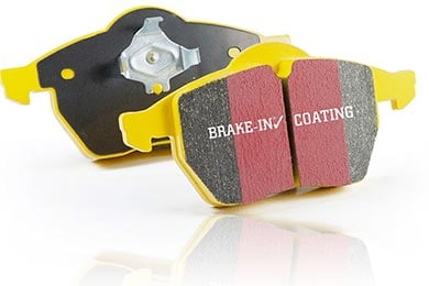 Hummer H3 EBC Yellow Stuff Brake Pads